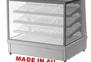 Culinaire CH.FD.T2.0900 Heated Food Display - Square Glass 900mm