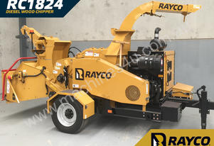2018 Rayco RC1824 Diesel Wood Chipper