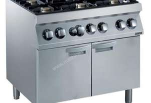 MASSIVE SAVINGS $3446  Zanussi 6 (5.5 kW ea) Burner Gas Range + Large Oven (700mm D) Z7GCGI6CL0