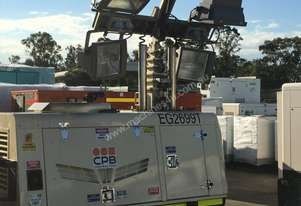Kubota 7kVA 4000 Watt Lighting Tower