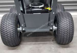 Turff power barrow 4x4 eletric start 4x4 galavanised bin free post only on machines 4u