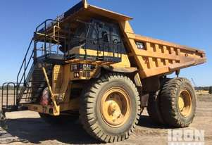 1987 Cat 777B Off-Road End Dump Truck