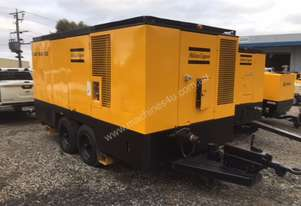 Atlas Copco XAS1600DD, 1600cfm  110-150psi Diesel Air Compressor, 3 MONTH WARRANTY
