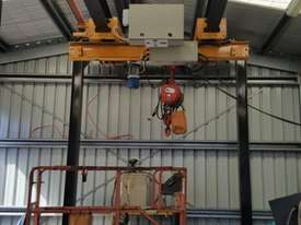 Millsom 2T Over Head Gantry Hoist - picture1' - Click to enlarge