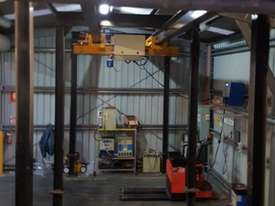 Millsom 2T Over Head Gantry Hoist - picture2' - Click to enlarge
