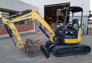 YANMAR VIO30-6 MINI EXCAVATOR WITH 3610 HOURS IN GREAT CONDITION.