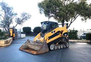 CATERPILLAR 297C TRACK SKID STEER LOADER WITH NEW TRACKS - 626