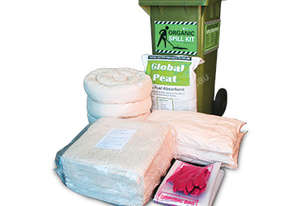 Organic Oil & Fuel Spill Kit. 220L absorbent capacity