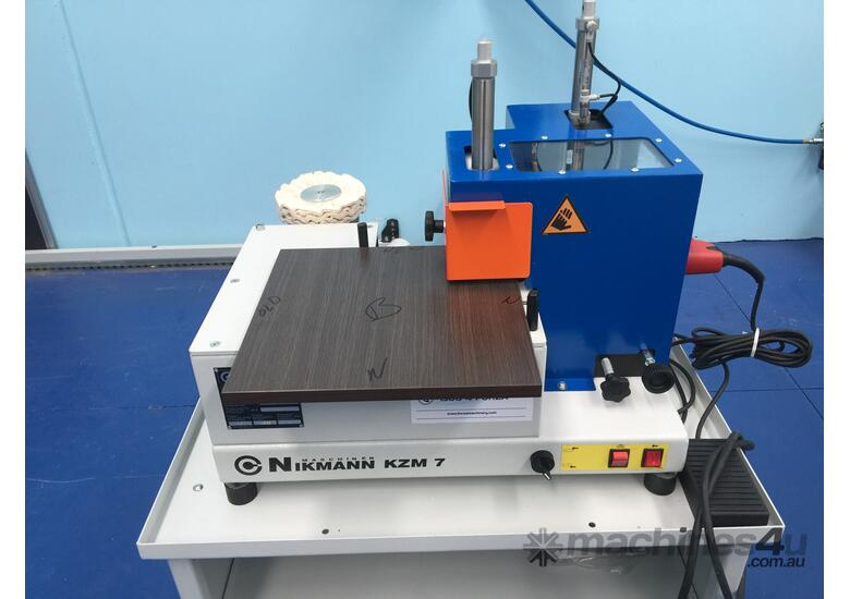 Standalone Corner rounding unit Nikmann KZM7 - Made in Europe
