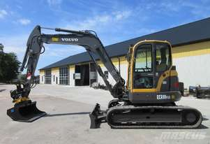 8.0 Tonne Excavator with Buckets for HIRE