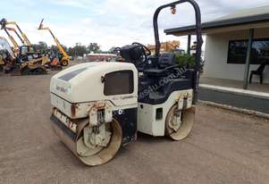 Ingersol Rand DD24 Twin Drum Vibrating Roller