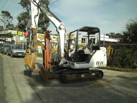 334-G . 3.5 ton hydralic extender hoe / longarm  - picture2' - Click to enlarge