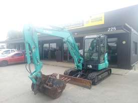 Kobelco SK55SRX-6 Tracked-Excav Excavator - picture1' - Click to enlarge
