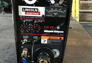 Lincoln LN25 Remote Wire Feeder Suitcase Style Heavy Duty Industrial MIG Welding Unit