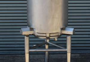 Stainless Steel Dimple Jacketed/Insulated Tank