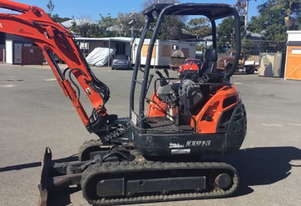 Kubota kx91-3 Mini Excavator Super Series 2 MACHEXC