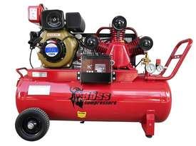BOSS 18CFM/ 4HP Diesel Powered Air Compressor 100L Tank (E/Start) - picture0' - Click to enlarge