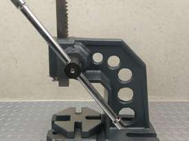 Arbor Press 1 Ton OPTIMUM Germany Precision Design Bearing Riveting Staking - picture1' - Click to enlarge