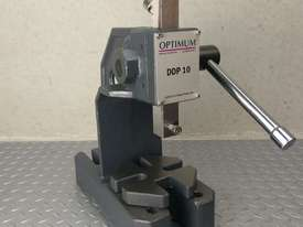 Arbor Press 1 Ton OPTIMUM Germany Precision Design Bearing Riveting Staking - picture6' - Click to enlarge