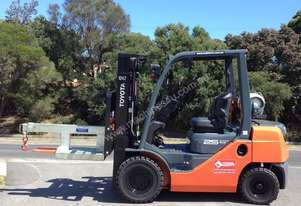 Toyota Forklift attachment hire