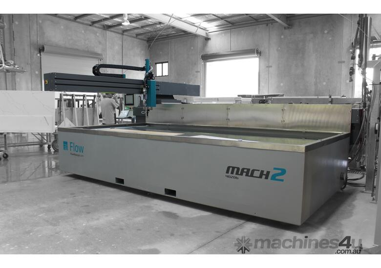Mach 100 Waterjet Cutting Machine for Light Cutting Applications