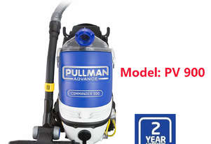 NEW PULLMAN PV900 Commercial Backpack Vacuum Cleaner 5.5L / 2 Year Warranty
