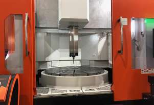 Ex-Works Taiwan Show Special 1600mm Chuck CNC Vertical Borer with Live Tooling