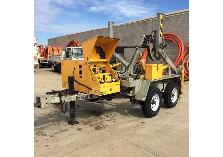 Redmond Gary 3.5T Duel Axel Self-loading Cable Drum Trailer