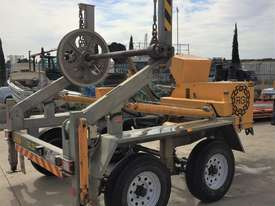 Redmond Gary 3.5T Duel Axel Self-loading Cable Drum Trailer - picture1' - Click to enlarge
