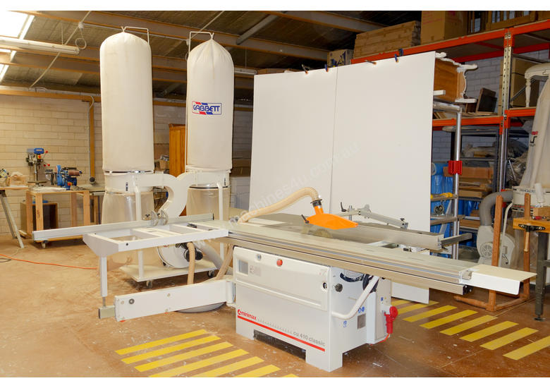 Used 2015 MiniMax CU410 Classic Combination Machine with slot morticer Wood Combination Machine