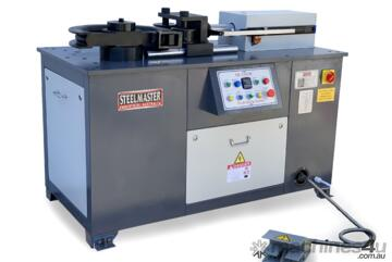 50mm Tube & Pipe Bender with 4 Sets Tooling & Digital Angle Setting Feature - Volt