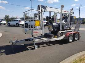 13m Crawler Mounted Spider Lift & Trailer package - picture0' - Click to enlarge