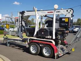 13m Crawler Mounted Spider Lift & Trailer package - picture1' - Click to enlarge