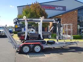 13m Crawler Mounted Spider Lift & Trailer package - picture2' - Click to enlarge