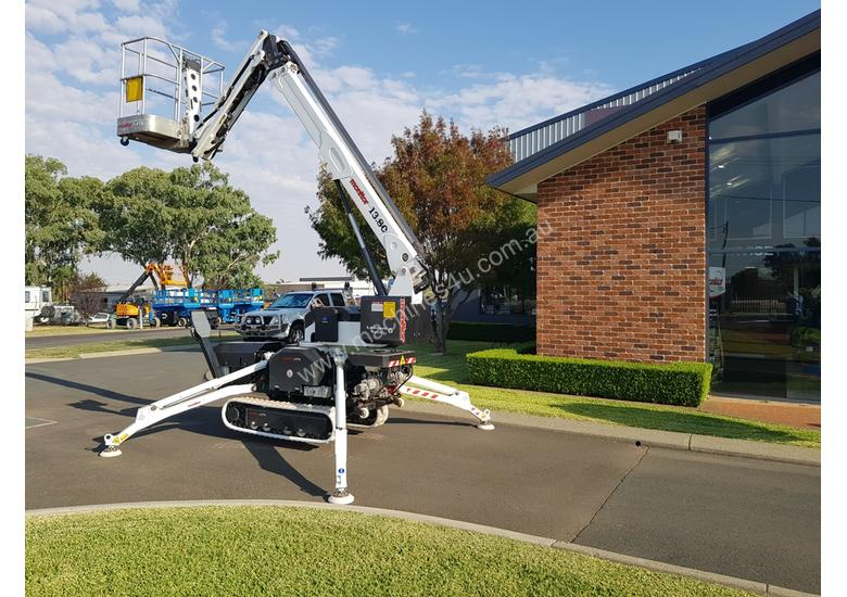 13m Crawler Mounted Spider Lift & Trailer package
