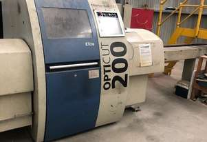 Used Optimising Saw Line + 4 Stackers