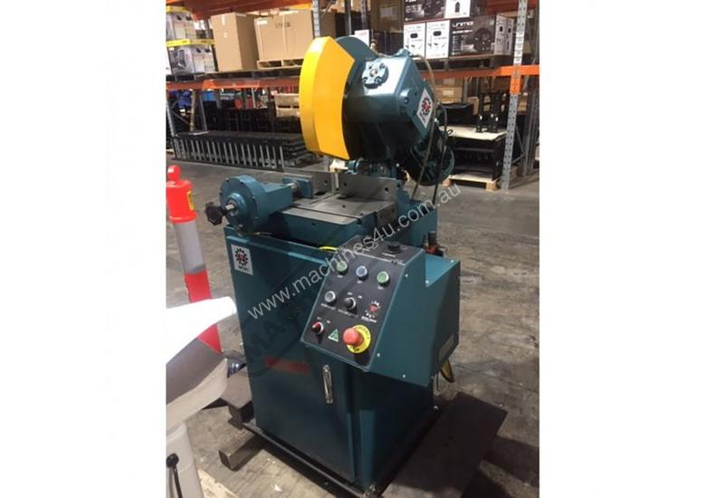 SA400 Brobo Semi-Automatic Ferrous Cutting Cold Saw - AS NEW 135 x 100mm Variable Blade Speed 20~100
