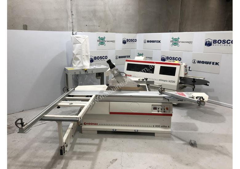 Clean 'Cut and Edge' start up package- Edge bander + Panel Saw + Dust extractor