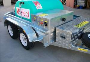 NEW MINE SPEC BLASTER TRAILER MOUNTED