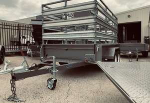 10x6 Cattle Crate Trailer (Aussie Made) 1990Kg ATM