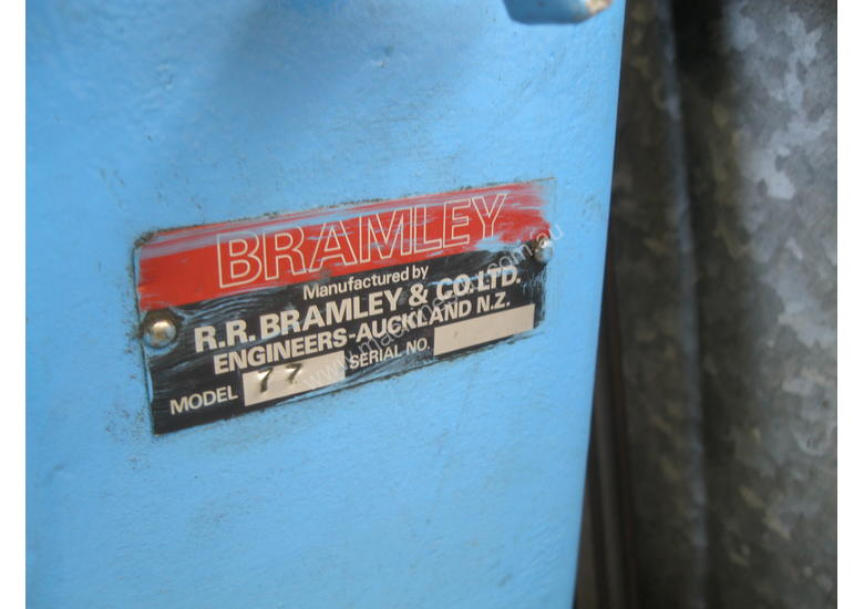 Bramley Heavy Duty Swage and Jenny Power Operated