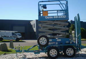 Genie GS1932 - Narrow Electric Scissor Lift (Hire or Sale)