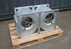 Galvanised Centrifugal Twin Blower Fan