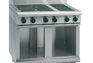Waldorf 800 Series RNL8609E-CB - 900mm Electric Cooktop Low Back Version