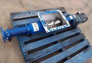 Open Throat Helical Rotor Pump, IN: 250mm L x 350mm W, OUT: 60mm Dia