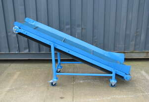 Incline Belt Conveyor - 1.85m long