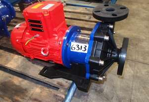 Magnetic Drive Chemical Transfer Pump, IN: 50mm Dia, OUT: 38mm Dia, 200Lt/min
