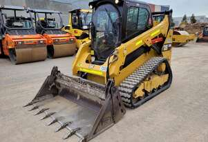 2019 CAT 259D TRACK LOADER WITH LOW 860 HOURS