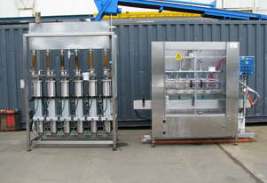 6 Head 5L Automatic Bottle Filler Filling Line - Fil-con SA5