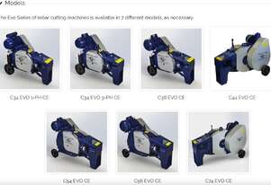 OFMER - Rebar Cutting Machines Evo series